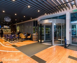 Lobby at the Four Points by Sheraton Ljubljana Mons