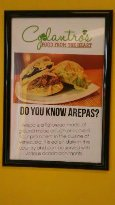 Here is what a Arepas consists of.