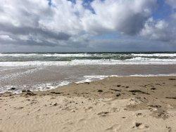 het strand van Bergen aan Zee