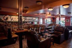Coco Jarry's lounge or restaurant side, summer of 2016. Photo Credit: RL McDonald.