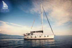 Diamanti sailing in Skiathos
