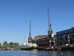 Bristol City Docks