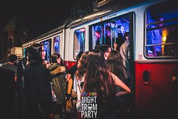Night Tram Party Krakow