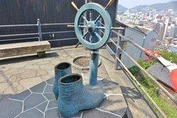 Statue of Ryoma Sakamoto's Boots