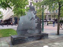 Tony Hancock Statue