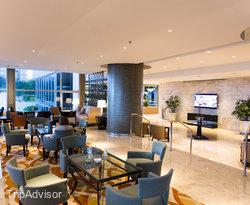Lobby at the Sheraton Grand Rio Hotel & Resort