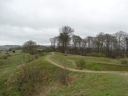 Danebury Iron Age Hill Fort