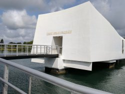 USS Arizona Memorial/Valor da 2ª Guerra Mundial no Monumento Nacional do Pacífico