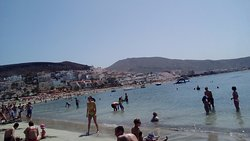 playa de las christianos beach