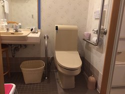 Great hotel - small disabled bathroom