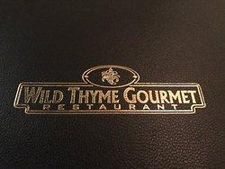 Wild Thyme Gourmet