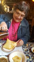 Sopapillas with Honey were fantastic.