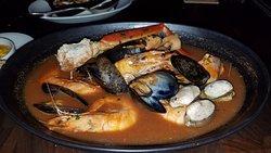 a soup dish
