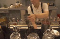 Young and Talented bartender