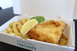 Fish and Chips at Weston Grove