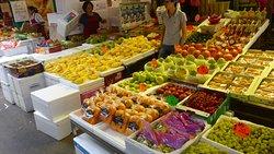 Ya Ma Tei Fruit Market