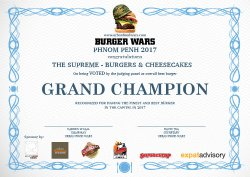 The Supreme Burgers & Cheesecakes
