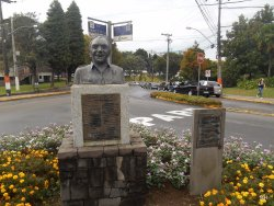Estatua de Leonel Brizola