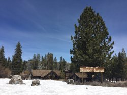 Mammoth Museum at the Hayden Cabin
