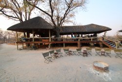 Fantastic tented camp with elephant viewing at every meal