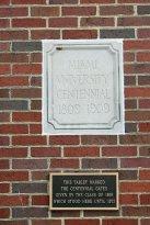 Miami University gate