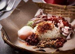 Spicy Sambal Sotong(Calamari) Rice Set