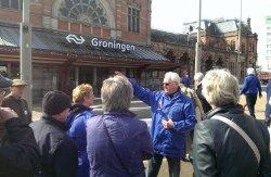 Natuurlijk stoppen we ook bij het mooiste station van Nederland!