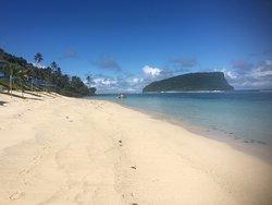 west side of Samoa