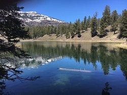 Nearby Trout Lake. Beautiful Hike!