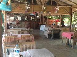 Pool bar and restaurant