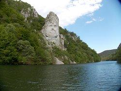 Statue of King Decebalus