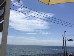 海を眺めて最高の休日でした