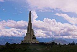 Obelisco de la Pampa de la Quinua
