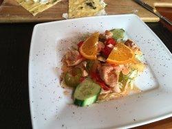 Chicken salad starter