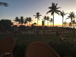Best waiting staff in Broome and best romantic view