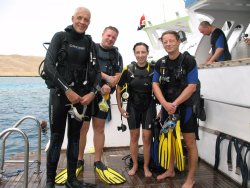 Diving course AOWD in Hurghada