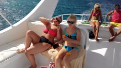 Relax on the boat Hurghada