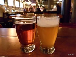 Craft beer on tap (3 oz) for $1.31