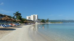Tranquil, safe beach