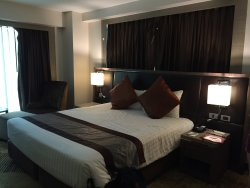 King size bed in Grand Premier room