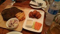 pork ribs & buffallo wings