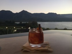Old Fashioned with a view.