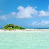 Белый островок, появился в одну ночь во время циклона Юго  (255789953)