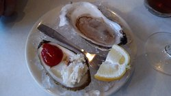 Damariscotta Maine oyster on the menu!