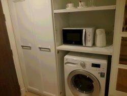 レンジ、ポット、洗濯機