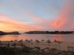 Beach at sunset- so beautiful