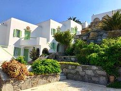 Family break at Mykonos View Hotel