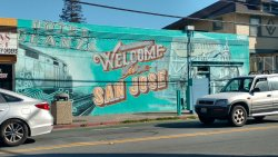 """Welcome to San Jose"" Mural"