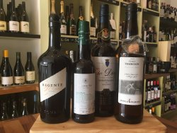 A small selection of our fine Sherry wines