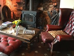 Fireside area